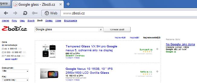 Google na Seznamu