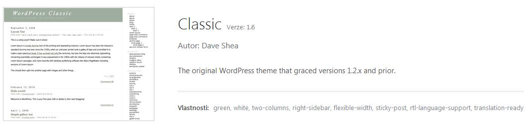Poslední dva dny místo psaní optimalizace WordPress