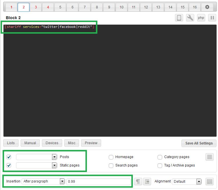 Jak jednoduše a automaticky vkládat do p?ísp?vk? ve WordPress další obsah