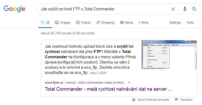 Prokliky z Google featured snippet zvýrazní citovaný obsah p?ímo na stránce