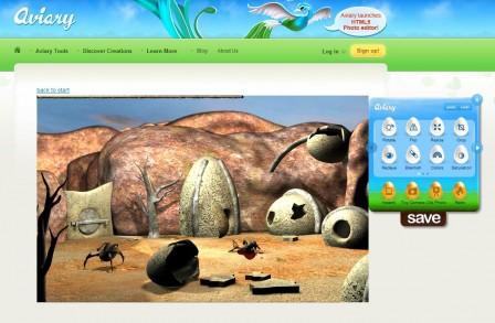 Aviary – editor obrázků v prohlížeči