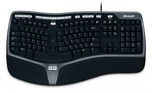 Vyměnil jsem klávesnici Microsoft Natural Ergonomic 4000 za Microsoft Wireless Comfort Keyboard 5000